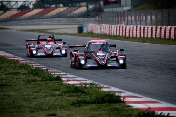 Vde-V-2014-BARCELONE-Les-LIGIER-OAK-Racing-Photo-Maurice-CAMUS