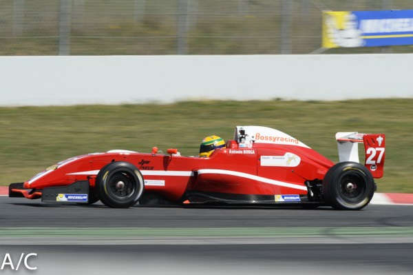 VdeV 2014 BARCELONE Formule RENAULT -ANTONIN BORGA- Photo ANTOINE CAMBLOR.