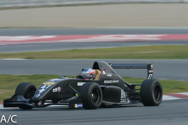 VdeV-2014-BARCELONE-Formule-RENAULT-JORDAN-PERROY Photo aNTOINE camblor