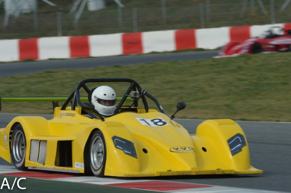 VdeV 2014 BARCELONE Formule RENAULT - Marcel SCIABBARRASI Photo Antoine CAMBLOR