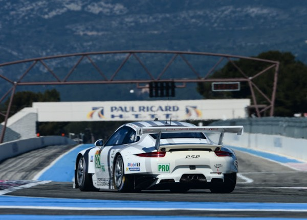 EC 2014 PAUL RICARD Prologue 29 Mars -PORSCHE 911 RSR TEAM MANTHEY Num 92- Photo Antoine CAMBLOR.j