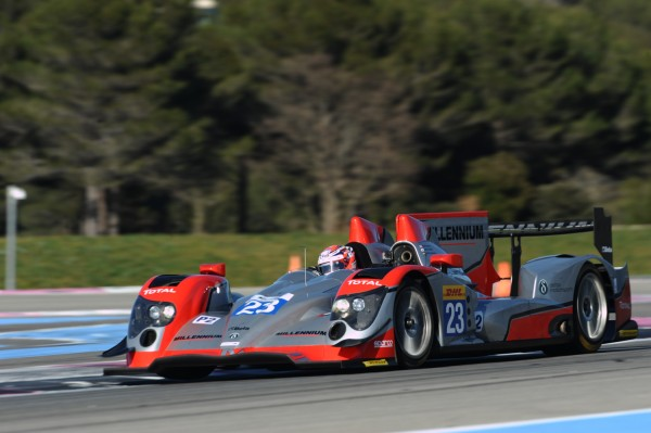 WEC-2014-PROLOGIE-Paul-RICARD-ORECA-03-NOSSAN-de-Shinju-NAKANO-du-Team-MILLENNIUM-Photo-Antoine-CAMBLOR