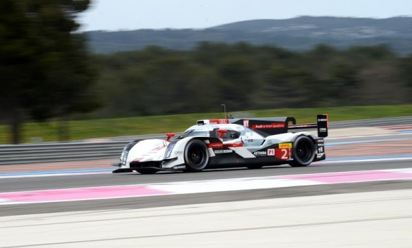 WEC-2014-PROLOGUE-PAUL-RICARD-AUD-Num-2-Photo-Claude-MOLINIER