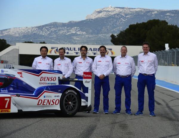 WEC-2014-Presentation-Team-TOYOTA-Circuit-Paul-RICARD-Jeudi-27-Mars-Le-Staff-durigeant-Photo-Max-MALKA.