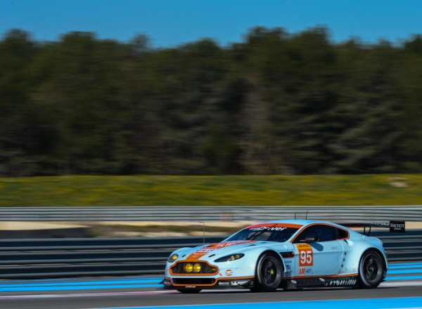 WEC 2014 Prologue le 29 Mars Circuit PAUL RICARD - ASTON MARTIN Team AMR Num 95 de POULSEN et THIIM- Photo Antoine CAMBLOR