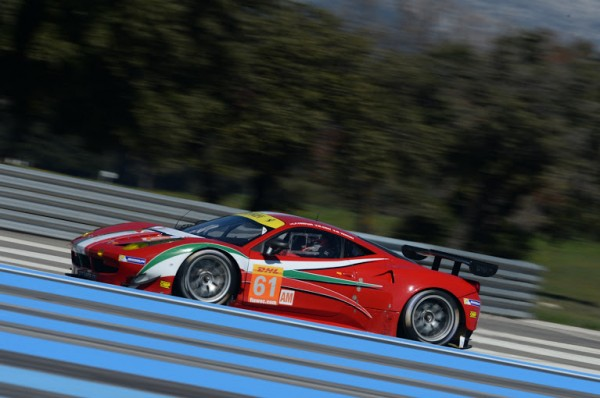 WEC-2014-Prologue-le-29-Mars-Circuit-PAUL-RICARD-FERRARI-F458-Otalia-AF-Corse-Num-61-Photo-Antoine-CAMBLOR