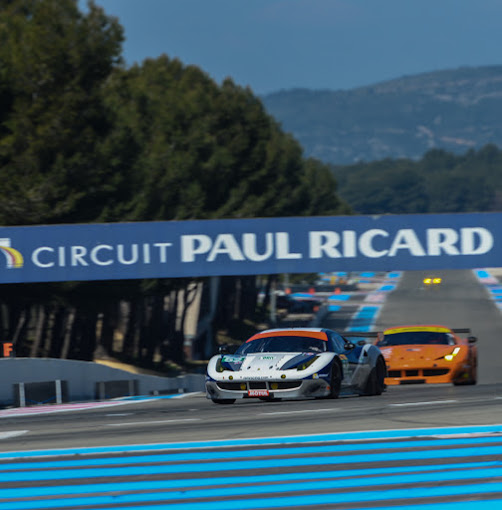 WEC-2014-Prologue-le-29-Mars-Circuit-PAUL-RICARD-LES-FERRARI-F458-des-Teams-RAM-et-8-STAR-Photo-Antoine-CAMBLOR
