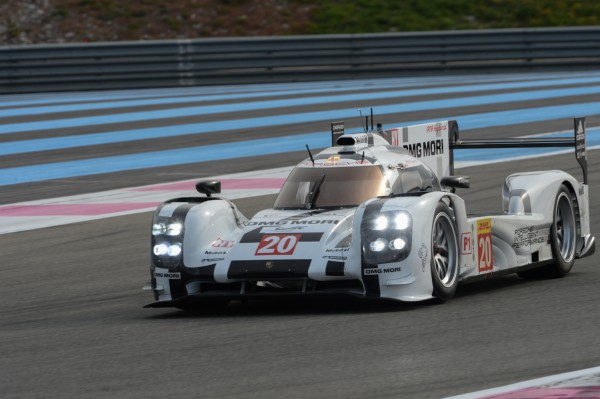 WEC-2014-prologue-Paul-RICARD-PORSCHE-la-N°20-samedi-29-Mars-séance-matinale-Photo-Antoine-CAMBLOR