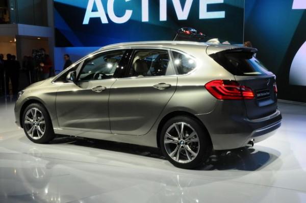 GENEVE 2014- BMW ACTIVE TOURER FLANC