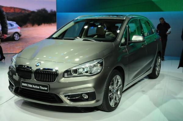 GENEVE 2014- BMW TOURER FACE