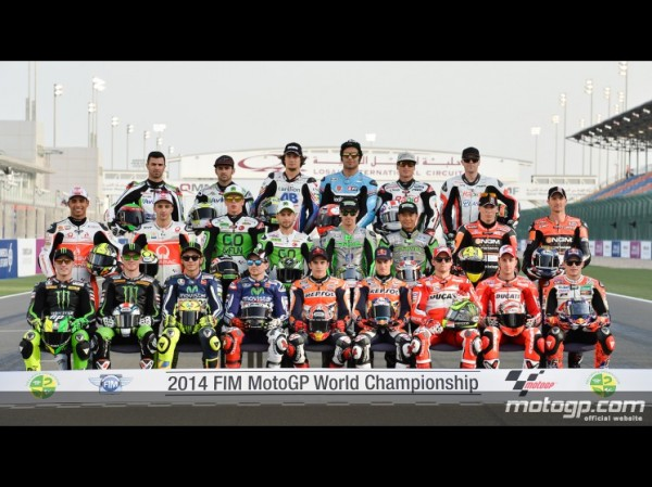 PHOTO DE CLASSE MOTOGP 2014