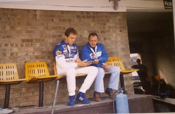 AGS-1985-F3000-Philippe-STREIFF-et-Henri-JULIEN-a-DONINGTON-Park