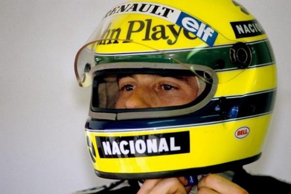 AYRTON SENNA  - Photo Bernard BAKALIAN