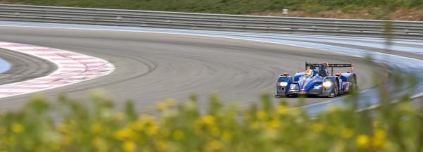 ELMS 2014 Essai PAUL RICARD NELSON PANCIATICI au volant ALPINE du Team SIGNATECH