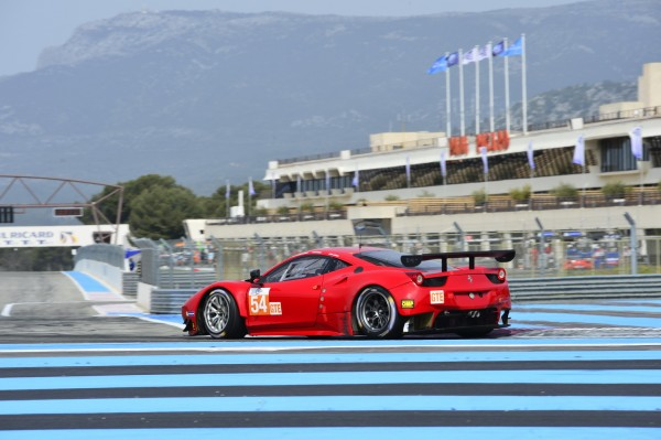ELMS-2014-Paul-RICARD-Test-la FERRARI F458 -Photo-Max-MALKA