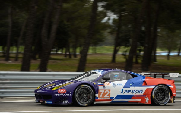 ELMS-2014-Paul-RICARD-Test-la FERRARO F458 SMP Racing -Photo-Max-MALKA.