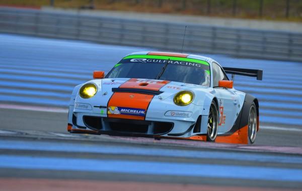 ELMS-2014-Test-PAUL-RICARD-La-PORSCHE-911-GT3-RSR-du-Team-GULF-Racing-UK-de-Adam-CARROLL-Ryan-CULLEN-et-Michael-Wainwright-Photo-