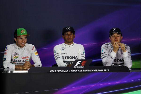 F1-2014-BAHREIN-LES-3-PREMIERS-en-interview.