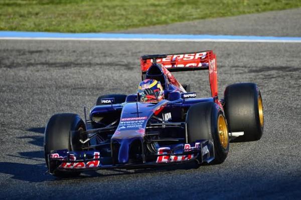 F1-2014-JEREZ-LA-TORO-ROSSO-de-Jean-Eric-VERGNE-le-JEUDI-30-JANVIER-photo-Max-MALKA