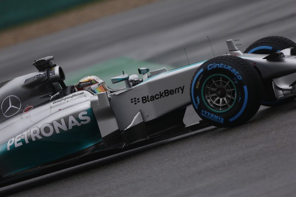 F1 2014 SHANGHAI - MERCEDES de Lewis HAMILTON