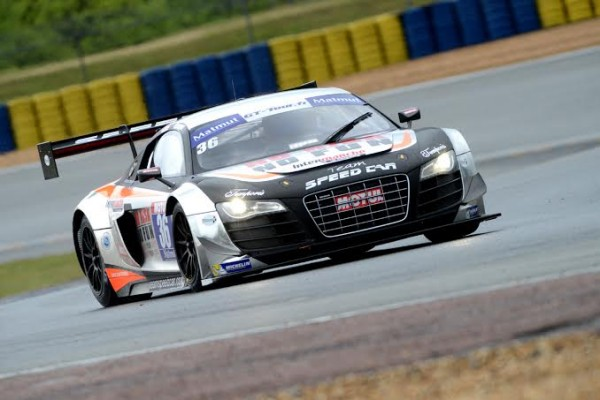 GT-TOUR-2014-LE-MANS-AUDI-R8-LMS-Ultra-de-Matthieu-LECUYER-et-Vincent-ABRIL-Photo-Claude-MOLINIER.
