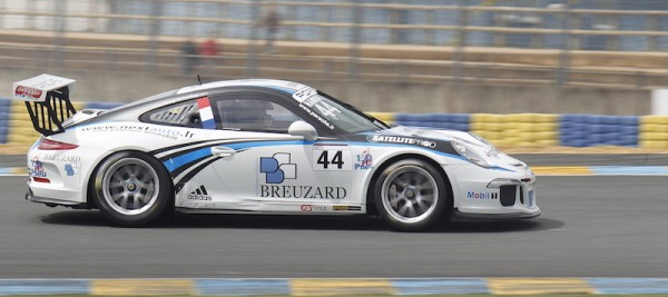 PORSCHE CARRERA CUP 2014 LE MANS-  HAMON-Christophe-RACING-TECHNOLOGY-N°44 -Photo Thierry COULIBALY