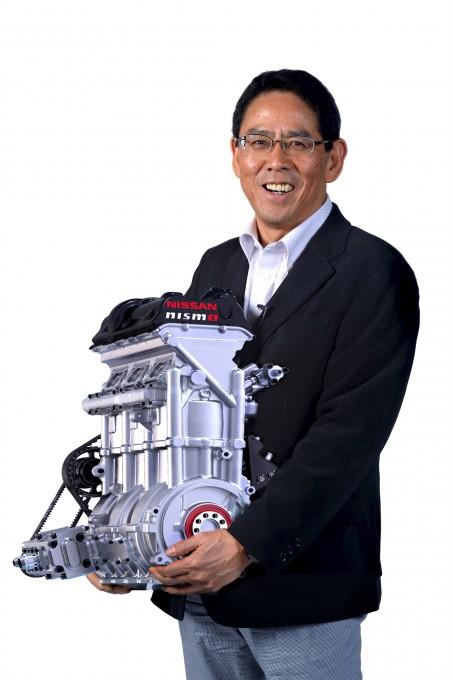 Nissan_ZEOD-RC_engine