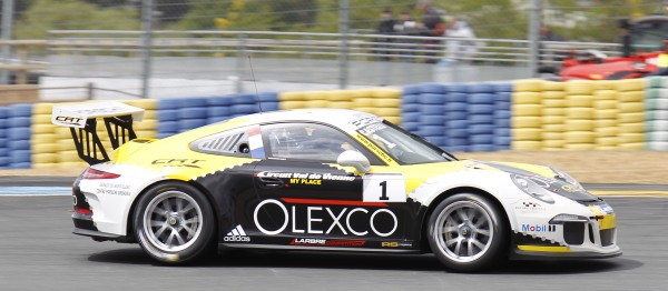 PORSCHE CARRERA CUP 2014 LE MANS. Gael CASTELLI -  Photo Thierry COULIBALY
