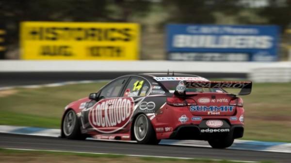 V8-SUPERCAR-2014-A-WINTON-victoire-course-1-de-la-HOLDEN-de-Fabian-COULTHARD