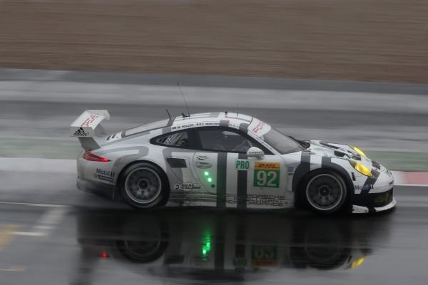 WEC 2014 SILVERSTONE La PORSCHE 911 RSR Num 92.