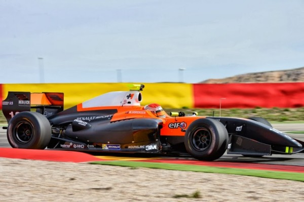 WORLD SERIES RENAULT 2014 MOTORLAND - Team TECH 1 Marco SORENSEN- Phoro Antoine CAMBLOR