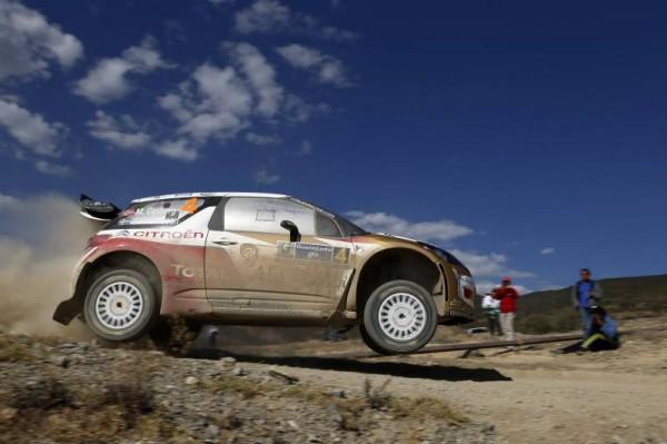WRC 2014 MEXIQUE CITROEN DS3 de OSTBERG Photo TEAM.