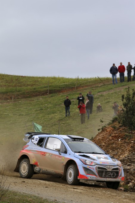 WRC 2014 PORTUGAL HYUNDAI de Dani SORDO photo TEAM.