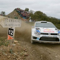 WRC 2014 PORTUGAL  La Polo VW de Seb OGIER