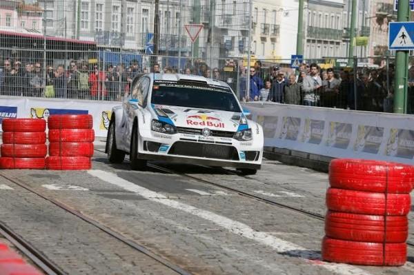 WRC 2014 PORTUGAL SUPERSPECIALE  LISBONNE   OGIER