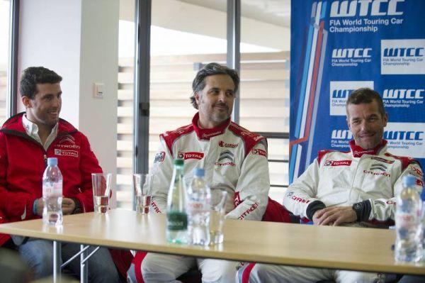 WTCC-2014-MARRAKECH-Les-pilotes-CITROEN.