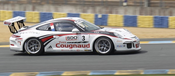 PORSCHE-CUP-2014-Le-MANS- Alexandre COUGNAUD Team Racing Technology -Photo Thierry COULIBALY