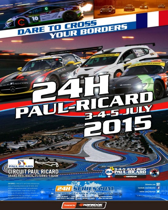 24 HEURES PAUL RICARD EN 2015