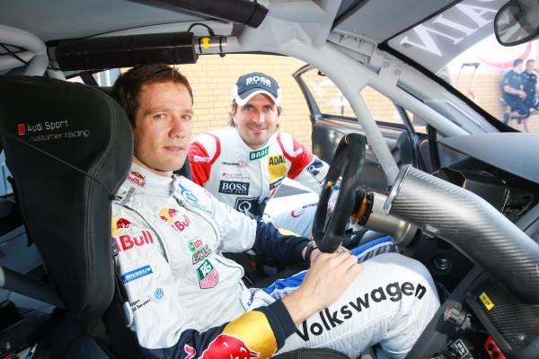 ADAC GT TOUR 2014   Seb OGIER et Markus WINKRLHOCK