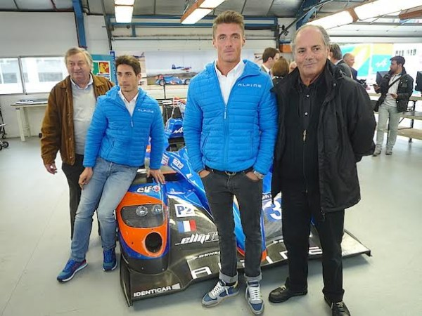 ALPINE-2014-Visite-DIEPPE-Team-SIGNATECH-Paul-Loup-CHATIN-Nelson-PANCIATICI-avec-Jean-Luc-THERIER-et-Alain-SERPAGGI-Photo-Thierry-COULIBALY