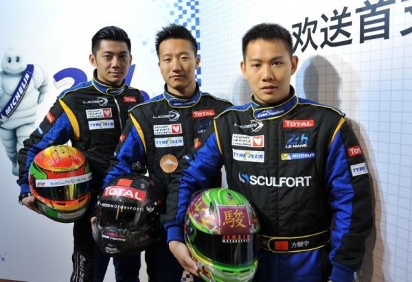 ASIAN SERIES 2014 Les pilotes de la LIGIER OAK.
