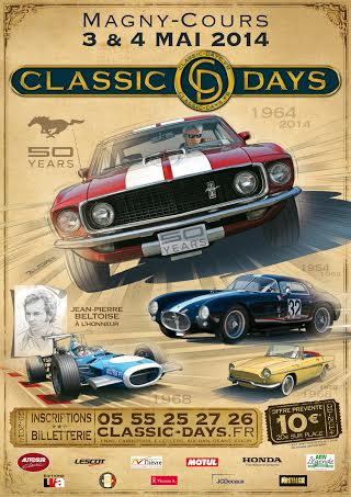 CLASSIC DAYS 2014 a MAGNY cours
