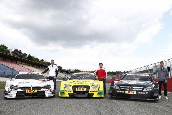 DTM 2014 Les trois marques el lice AUDI BMW MERCEDES