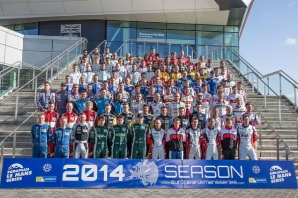 ELMS-2014-Les-pilotes-posent-avant-la-1ére-course-de-SILVERSTONE