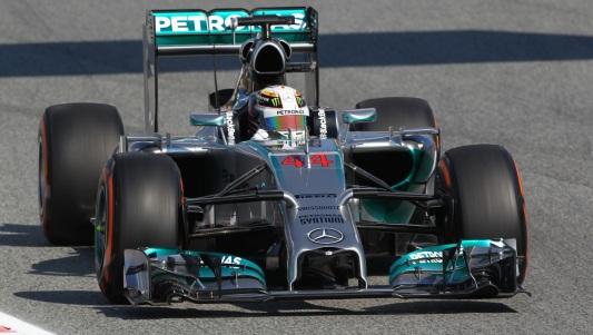F1-2014-BARCELONE-MERCEDES-HAMILTON F1-2014-BARCELONE-MERCEDES-HAMILTON
