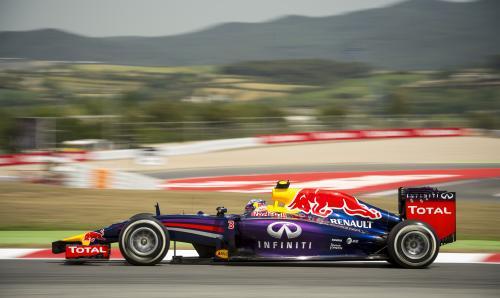 F1-2014-BARCELONE-RED-BULL-de-RICCARD0-3éme-le-11-Mai