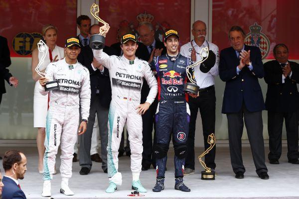 F1 2014 MONACO LE PODIUM