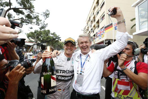 F1 2014  MONACO NICO ROSBERG PRINCE de MONACO