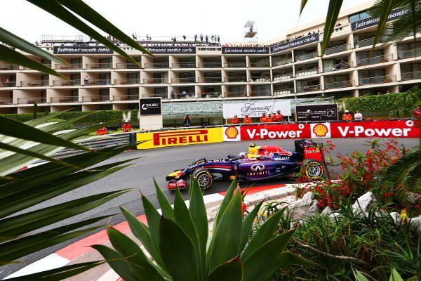 F1 2014 MONACO RED BULL RENAULT de Daniel RICCIARDO