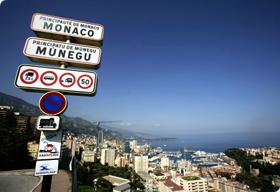 F1 Monaco plaque entree
